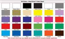 3 Rolls of 12 inch x 10ft Permanent Sign Vinyl YOU PICK from 30 Colors V0301