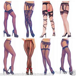 Images women in garter pantyhose