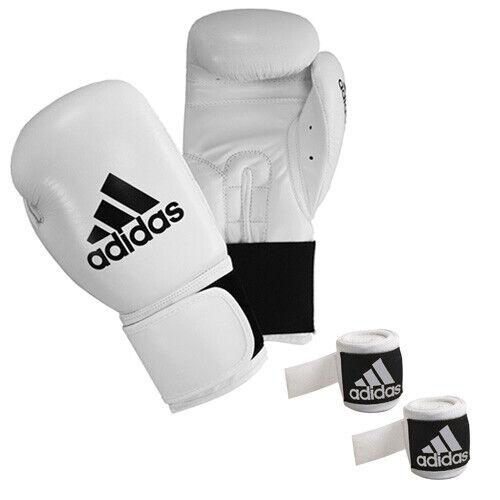 Guantes de artista Adidas 3,5 metros guantes de boxeo traje blancoo