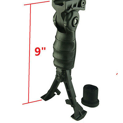 FieldSport Removeable Bipod and Lightweight Polymer Holder, Mount to Weaver Rail