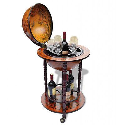 Minibar Globusbar Globus Bar Hausbar Cocktailbar Weltkugel Dekobar NEU