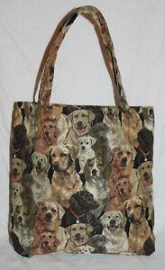 Labrador-Einkaufsbeutel-Hunde-Einkaufstasche-Shopper-Gobelin-Tapestry