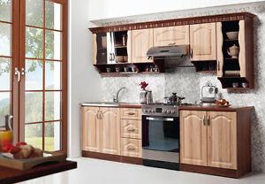 kchenzeilen landhausstil landhausstil kche kchenzeile 260 cm set neu und schnell ebay - Ebay Kuchenmobel Gebraucht
