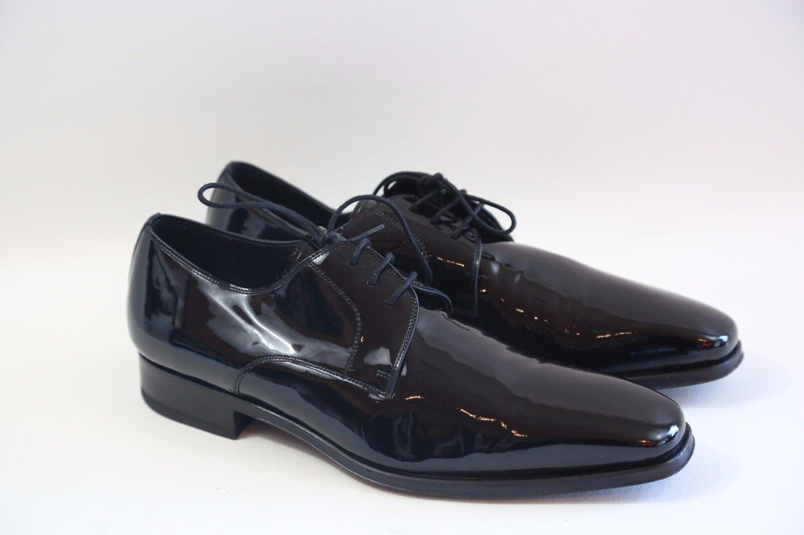 = Magnanni 'Dante' Plain Toe Tuxedo Scarpe Taglia 9 M  retail  299
