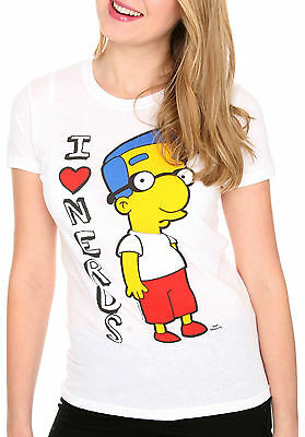 The Simpsons Milhouse Nerd Tee