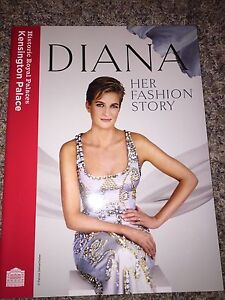 Princess Diana Her Fashion Story Kensington Palace Dress Exhibit Book Catalog Ebay