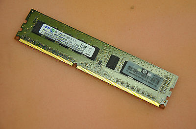 HP 500209-061 2GB 1X2GB 2RX8 PC3-10600E MEMORY 500670-B21 501540-001