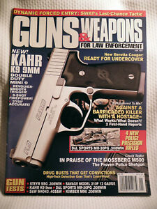 GUNS & WEAPONS FOR LAW ENFORCEMENT MAGAZINE~ JAN 1997 ~ NEW KAHR K9 9MM