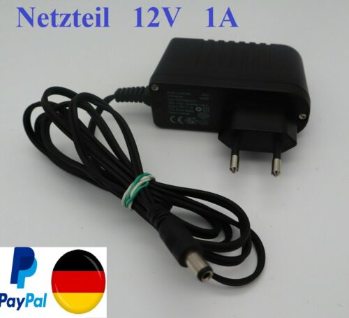 **Original** AVM Fritz Netzteil 12V 1A mit Hohlstecker 2,5mm Fritzbox Ladegerät