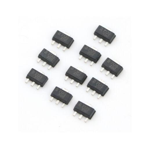 10pcs AMC7135 350mA LED driver SOT-89 350mA//2.7-6VRSFD