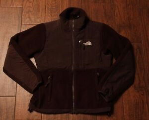 68dd396e484b The North Face Women s Brown Fleece Full Zip Denali Jacket Size XS ...