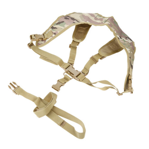 Tactical Adjustable Quick Release Gun Lanyard Shoulder Strap For P90 Rifle Sling