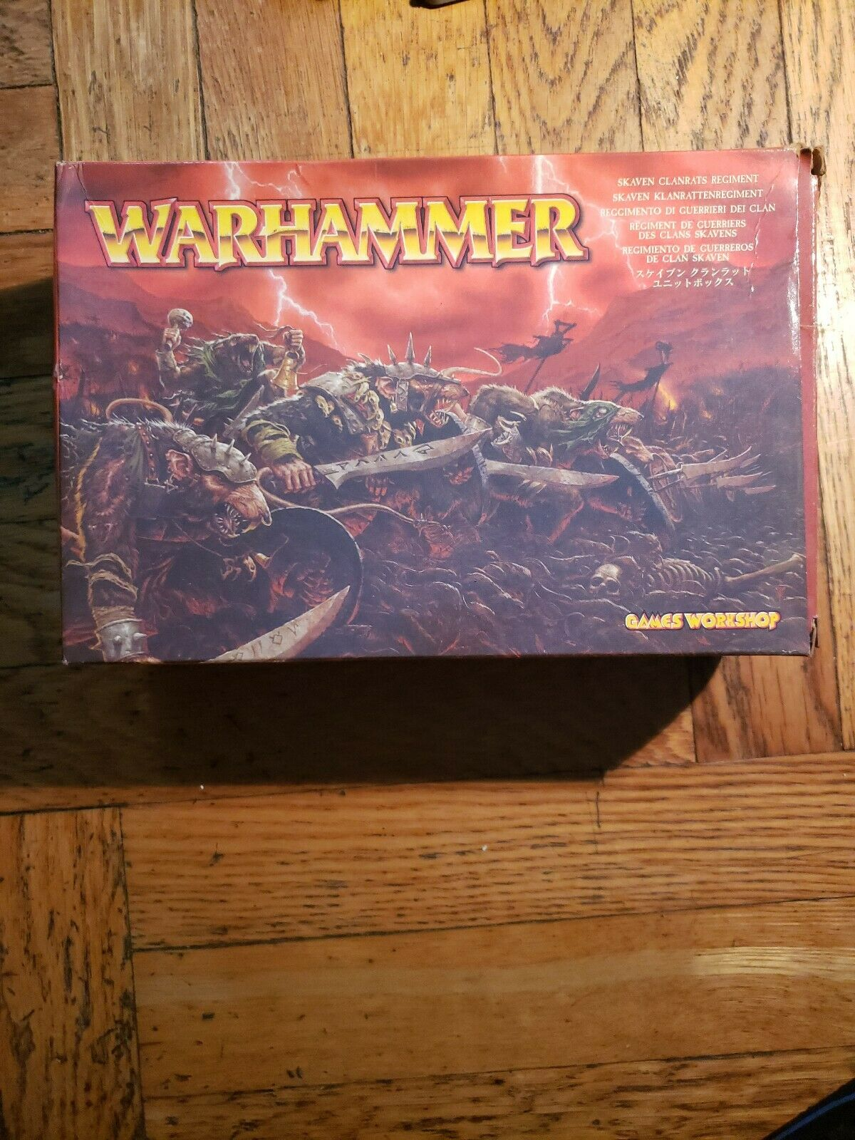 Warhammer SKAVEN CLANRATS Regimiento Juegos Workshop