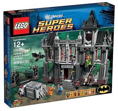 LEGO Super Heroes Arkham Asylum Breakout 10937 BRAND NEW in MARKED BOX