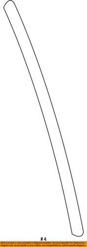 GM OEM Rear Door-Front Weatherstrip Seal 22766375