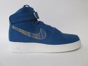 Nike Air Force 1 High '07 LV8 # 806403 402 Industrial Blue Men Sz 7.5 - 11