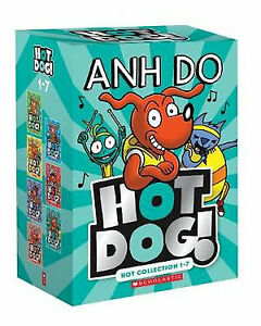 NEW-Hotdog-7-Books-Set-Hot-Bundle-Collection-1-7-Best-Selling-Anh-Do-Kids-Gift