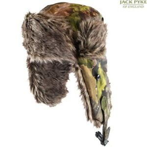 Jack Pyke Tundra Chapeau Homme Trappeur Hiver coiffure chasse EVO Camouflage
