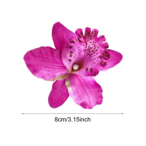 Bridal Hairpins Flower Hair Clips Wedding Orchid Girls Bohemia Barrette Hairband