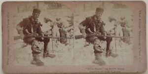 Uncle-Remus-Il-Rabbit-Slayer-Foto-Stereo-Vintage-Albumina-1897