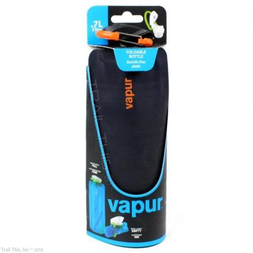 Night Blue Vapur Eclipse 0.7L 23oz Collapsible Foldable Water Bottle