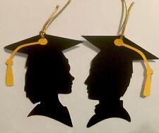 Graduation Graduate Gift Tag Die Cut Set Handmade CardStock