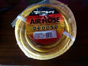 Forney-Air-Hose-1-4-034-DIA-X-25-039-1-4-034-NPT-Fittings-High-Quality-Purpose-PVC