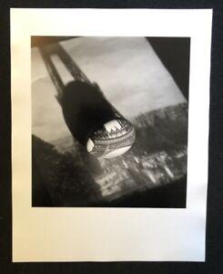 Jaroslav Rössler, Photo montaggio con uovo e Torre Eiffel, 1959, da cui SCONTO