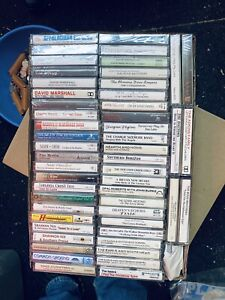 52 CT Cassette Lot Bluegrass Gospel Lot# 20 New Sealed Cassettes