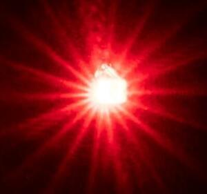 DEL diode électroluminescente 5 mm rouge 5 pièce 0004