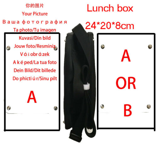 Naruto Lunch Box Girls Boys Kids School Tote Bag Picnic Bag Cool Bag Galaxy Wolf