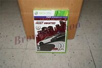 Need For Speed Most Wanted Limited Edition Xbox 360 Sealed