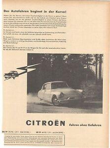 CITROEN ID / DS 19 / 21 - KONVOLUT - historische Reklame - vintage adverts - - Reiskirchen, Deutschland - CITROEN ID / DS 19 / 21 - KONVOLUT - historische Reklame - vintage adverts - - Reiskirchen, Deutschland