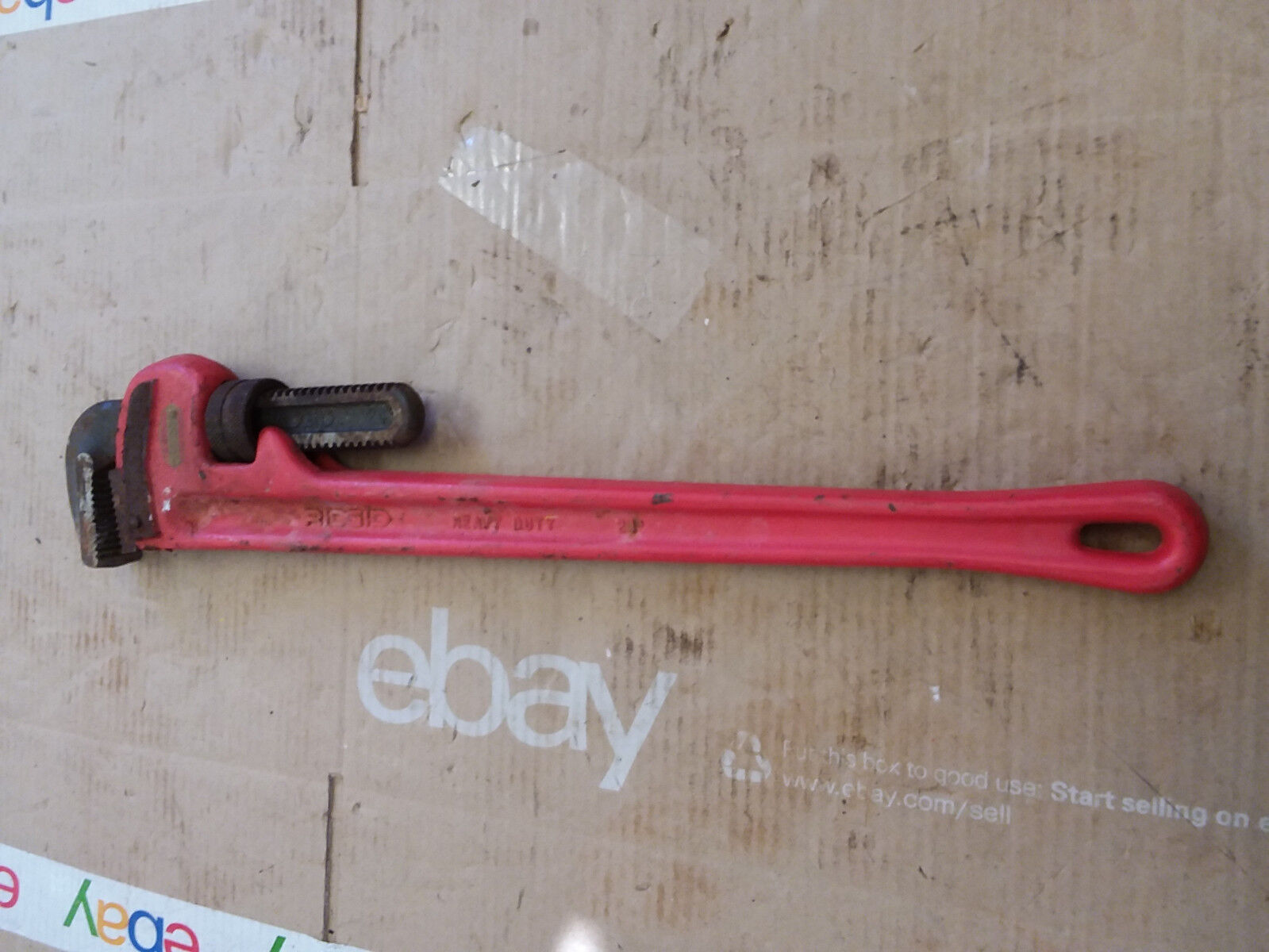 Ridgid 24  Pipe Wrench Heavy Duty Made in USA
