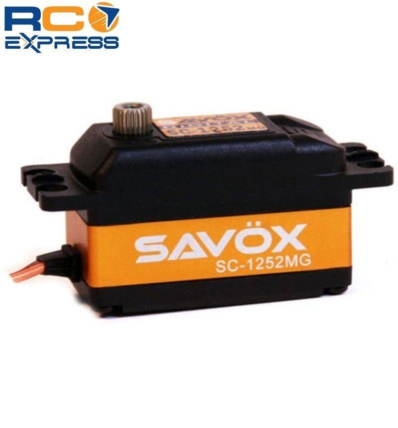Savox Perfil Digital Servo Super velocidad Low .07 97.2 SAVSC 1252MG