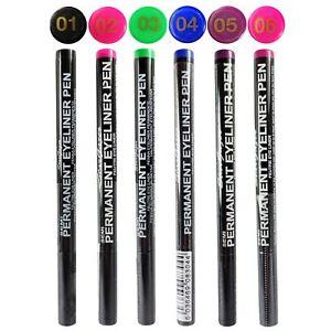 Semi-Permanent-Eyeliner-Pen-Liquid-Coloured-Liner-Pink-Blue-Green-Stargazer