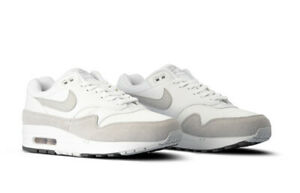 Man-Nike-Air-Max-1-Pure-Platinum-White-Cool-Grey-Pure-AH8145-110-SZ-6-13