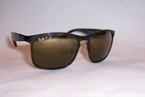 e174eddfe8c NEW RAY BAN Sunglasses 4264 876 6O GRAY GOLD MIRROR POLARIZED ...