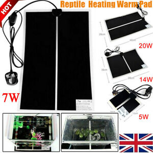 Reptile-Vivarium-Heat-Mat-Heating-Warm-Heater-Pad-With-Thermostat-Controller-1pc