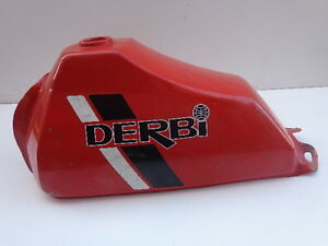 DERBI RED FUEL TANK DERBY (box 64)
