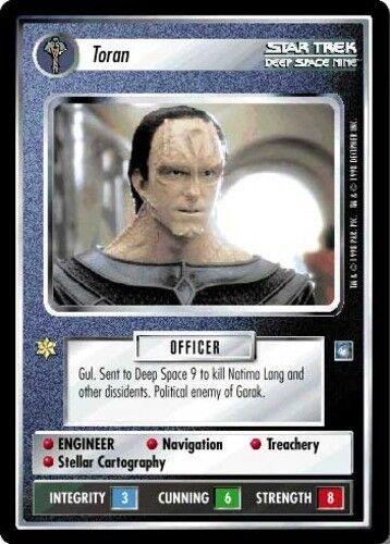 Star Trek Mint//Near Mint Toran Deep Space Nine STCCG Decipher 1E