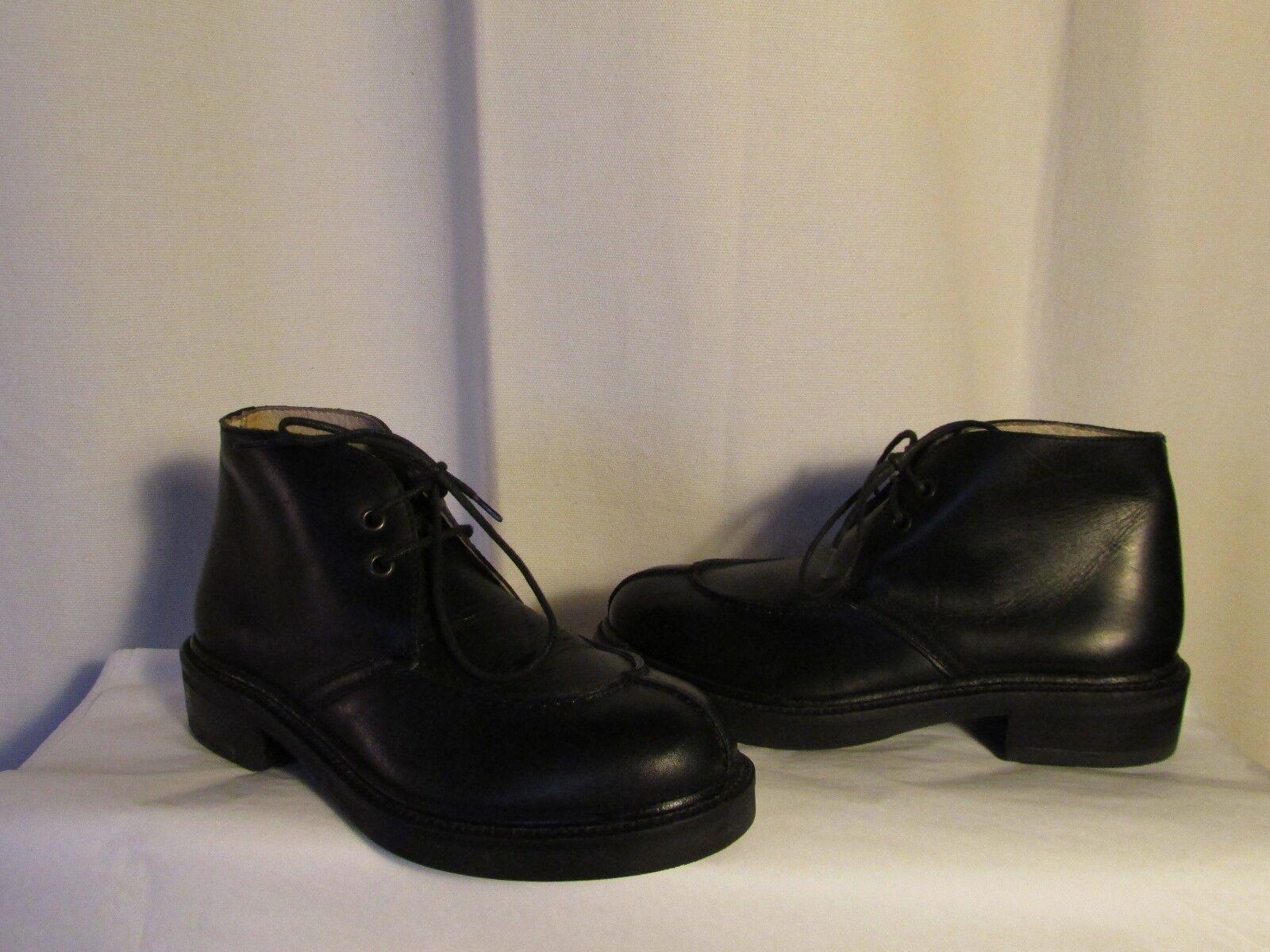 boots/bottines J.J LESTER cuir noir 37