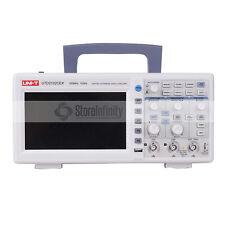 "UTD2102CEX 1GSA 7"" W-TFT 100MHz 2CH Digital Speicher Oszilloskop Oscilloscope"