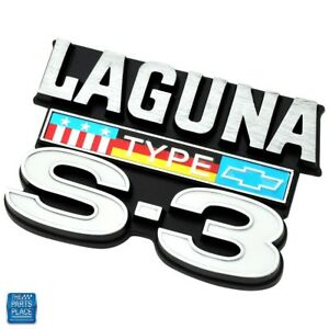 Details about 1974-76 Chevelle Laguna Type S-3 Fender Emblem - Limited  Quantity GM 345213