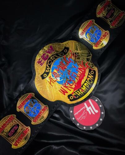ECW World Heavyweight Wrestling Championship Belt Adult Size Replica