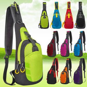 9a673508f Image is loading Mens-Waterproof-Sling-Bag-Crossbody-Backpack -Ultralight-Versatile-