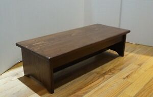 Handcrafted Heavy Duty Wood Bedside Step Stool 11 X 27 Quot X