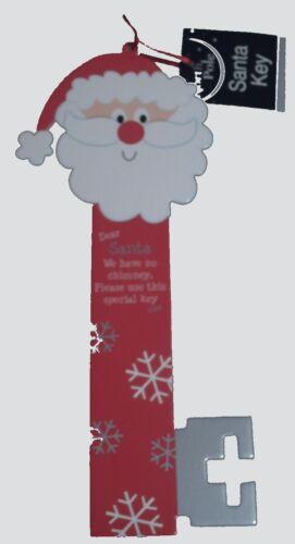 EuroWrap MAGIC SANTA KEY House Card Christmas Tree Hanging Decoration Ornament