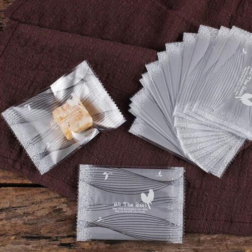 Cookie Baking Bag Self Adhesive Seal Packaging Bag HY