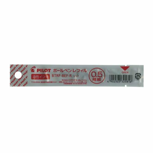 Pilot 0.5mm BTRF-8EF Ballpoint Pen Refill  3 Color Select